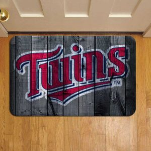 Minnesota Twins MLB Baseball Step Mat Doormat Foot Door Rug Mat
