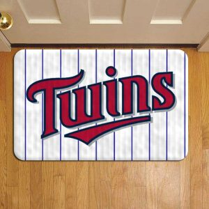 Minnesota Twins Doormat Foot Rug Door Mat Steps