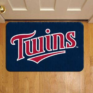 Minnesota Twins Door Mat Foot Rug Doormat Steps