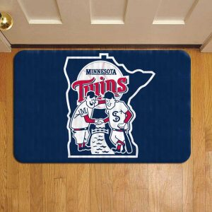 Minnesota Twins Rug Doormat Foot Door Mat Steps
