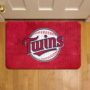 Minnesota Twins Door Steps Foot Doormat Rug Mat