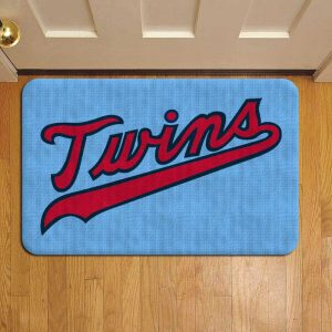 Minnesota Twins Step Mat Doormat Foot Door Rug Mat