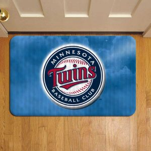 Minnesota Twins MLB Baseball Doormat Foot Rug Door Mat Steps