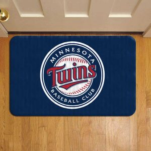 Minnesota Twins Baseball Door Mat Foot Rug Doormat Steps