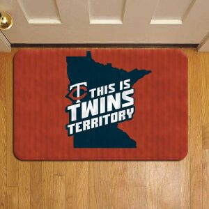Minnesota Twins MLB Baseball Rug Doormat Foot Door Mat Steps