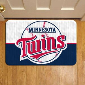 Minnesota Twins MLB Baseball Foot Mat Doormat Rug Door Steps