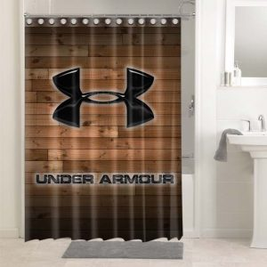 Under Armour Shower Curtains Bathroom Decoration Waterproof Polyester Fabric.