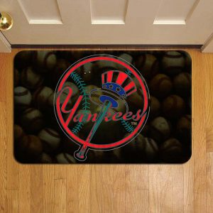 New York Yankees Baseball Step Mat Doormat Foot Door Rug Mat