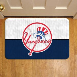 New York Yankees Baseball Door Mat Foot Rug Doormat Steps
