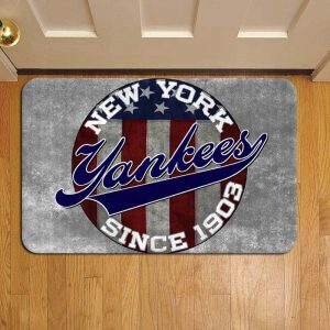 New York Yankees MLB Rug Doormat Foot Door Mat Steps