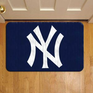 New York Yankees Door Mat Foot Rug Doormat Steps