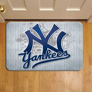 New York Yankees MLB Baseball Rug Doormat Foot Door Mat Steps