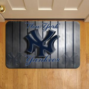 New York Yankees Foot Mat Doormat Rug Door Steps