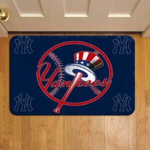 New York Yankees MLB Baseball Foot Mat Doormat Rug Door Steps