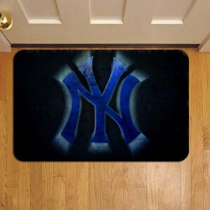 New York Yankees Baseball Rug Doormat Foot Door Mat Steps
