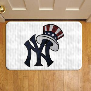 New York Yankees Baseball Foot Mat Doormat Rug Door Steps