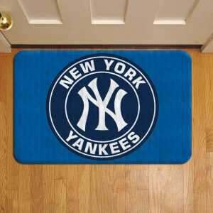 New York Yankees Baseball Door Steps Foot Doormat Rug Mat