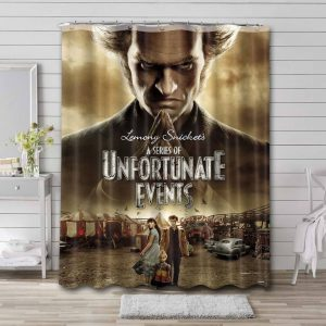 A Series of Unfortunate Events Shower Curtain
