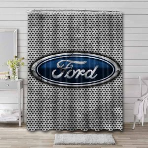 Ford Shower Curtain Waterproof Polyester