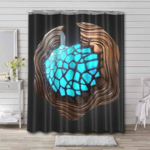 Altered Carbon Waterproof Shower Curtain Bathroom