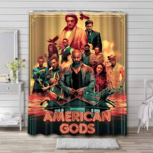 American Gods Shower Curtain Waterproof Polyester