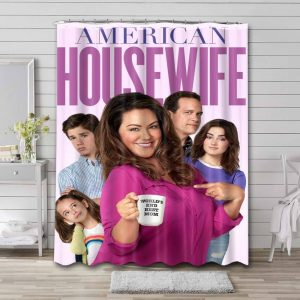 American Housewife Shower Curtain