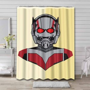 Ant Man Movie Shower Curtain Waterproof Polyester