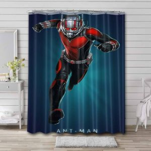 Ant-Man Avengers Shower Curtain Waterproof Polyester