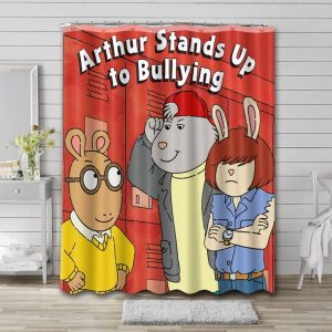 Arthur Stand Up To Bullying Waterproof Bathroom Shower Curtain