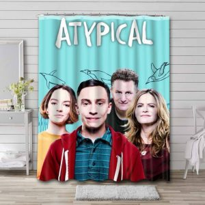 Atypical Shower Curtain Waterproof Polyester