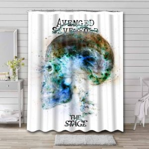 Avenged Sevenfold The Stage Waterproof Shower Curtain Bathroom
