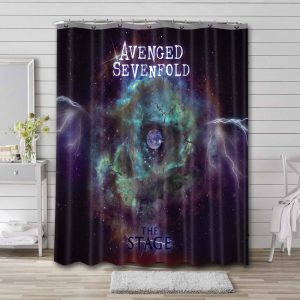 Avenged Sevenfold The Stage Bathroom Shower Curtain Waterproof