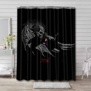 Avenged Sevenfold Shower Curtain Bathroom Decoration Waterproof Polyester Fabric.