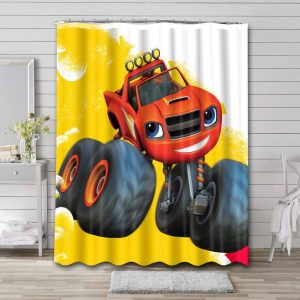 Blaze and the Monster Machines Shower Curtain Waterproof Polyester