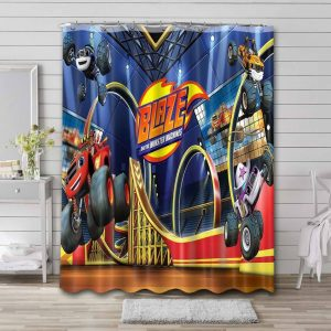 Blaze and the Monster Machines Shower Curtain