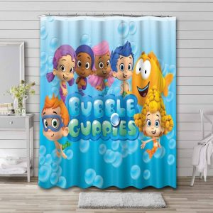 Bubble Guppies Shower Curtain