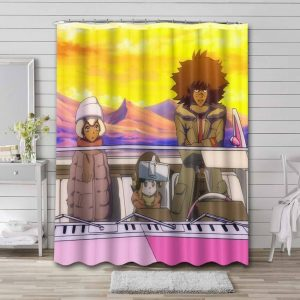 Cannon Busters Shower Curtain Waterproof Polyester