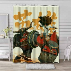 Cannon Busters Bathroom Curtain Shower Waterproof