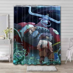 Cannon Busters Waterproof Curtain Bathroom Shower