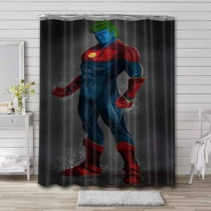 Captain Planet and the Planeteers Bathroom Curtain Shower Waterproof