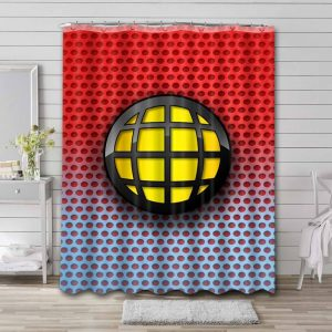 Captain Planet and the Planeteers Logo Shower Curtain Bathroom Decoration