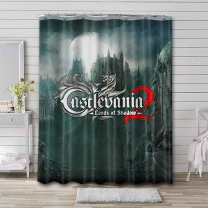 Castlevania 2 Lord Of Shadow Shower Curtain Waterproof Polyester