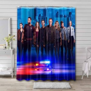 Chicago PD Shower Curtain