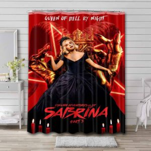 Chilling Adventures of Sabrina TV Shows Shower Curtain Polyester