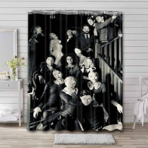Chilling Adventures of Sabrina Characters Curtain Bathroom Shower