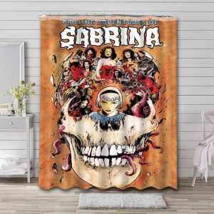 Chilling Adventures of Sabrina Shower Curtain Polyester