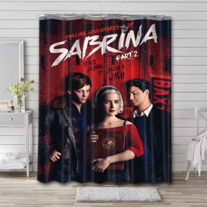 Chilling Adventures of Sabrina Bathroom Shower Curtain Polyester