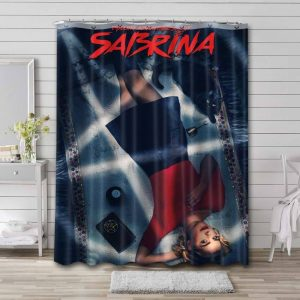 Chilling Adventures of Sabrina Characters Shower Curtain Bathroom