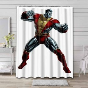 Colossus Shower Curtain Bathroom Decoration Waterproof Polyester Fabric.
