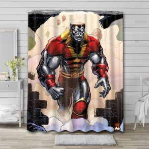 Colossus X-Men Shower Curtain Waterproof Polyester